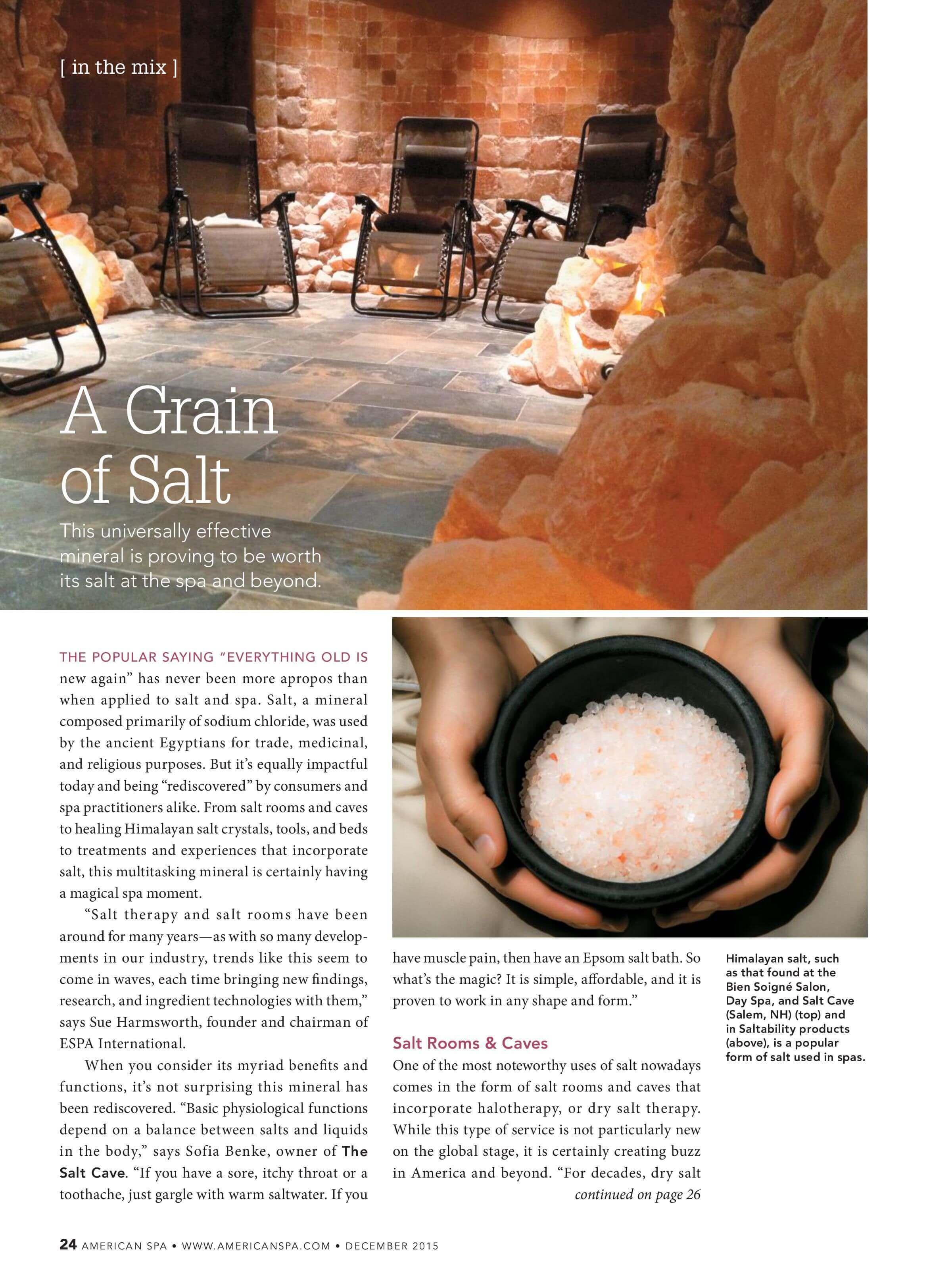 A Grain of Salt 1