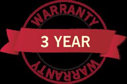 3 year warranty MULTI S.A.L.T. FX®