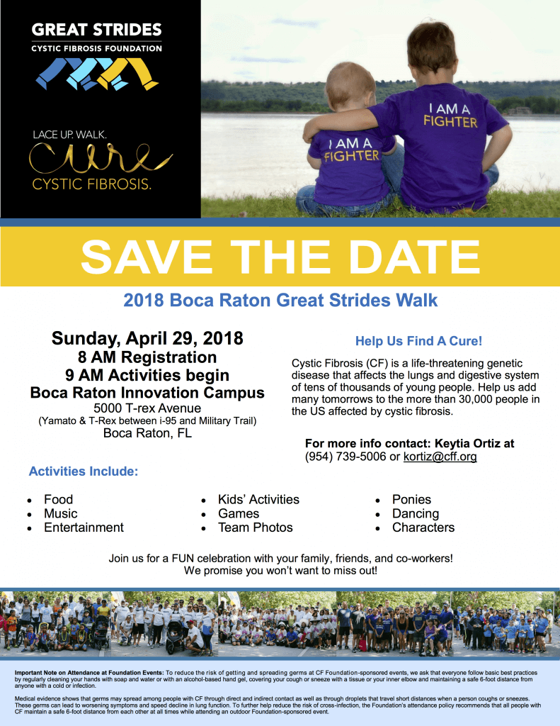 Save the Date 791x1024 Cystic Fibrosis Foundation