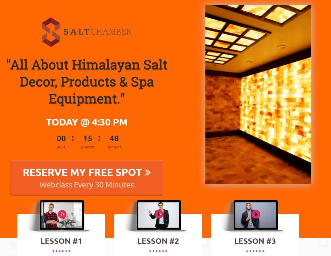 Salt Decor Webinar Picture On Demand Webclasses