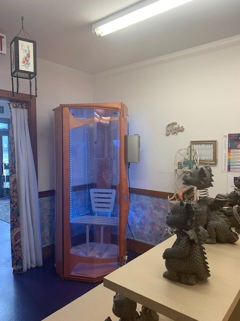 Mystic Bayou Holistic and Alternative Health Original Salt Booth Picture 4 062220 Client Gallery