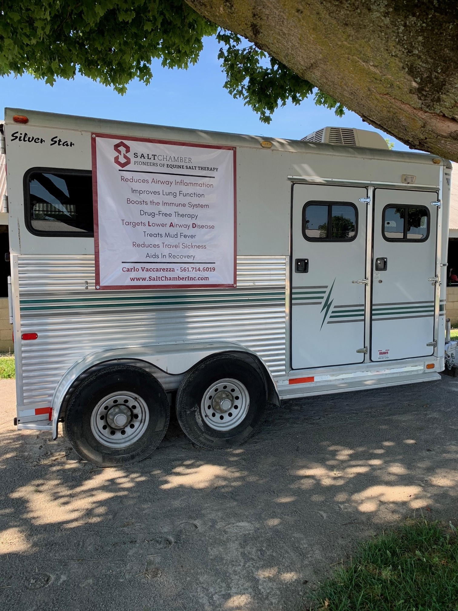 Carlo Equine Salt Therapy Trailer Picture 2 072020 Equine